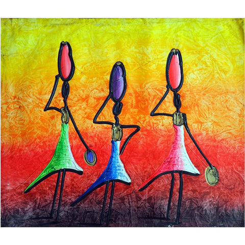 Haitian painting | Latitudes World Décor