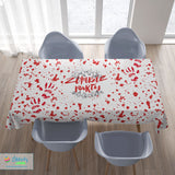 Bloody Halloween Tablecloth - with or without text