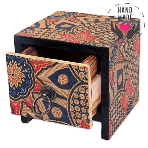 Batik Little Chest | Latitudes World Décor Decorative Boxes