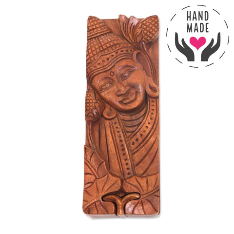 Buddha Cover-Up Puzzle Box Decorative Boxes