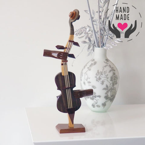 Charanga Violin Sculptures