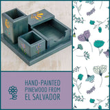 El Salvador Desk Organizer Set