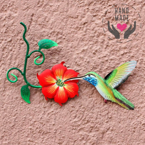 Exotic Nectar Handmade Metal Wall Art