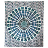 Indian White Lotus Tapestries