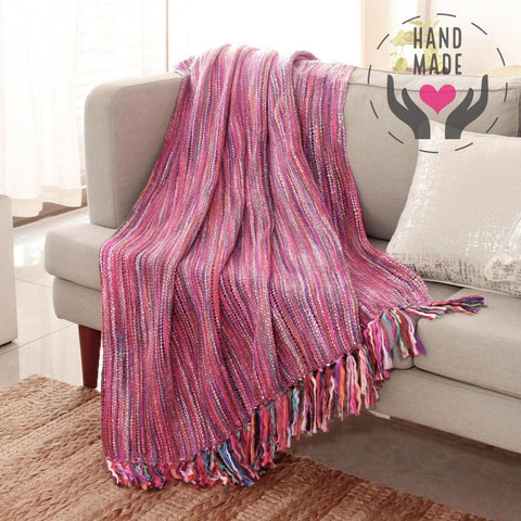 Jaya Handmade Throw Blanket Blankets