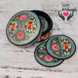 Kashmir Inspiration Set Of 6 Coasters Coasters