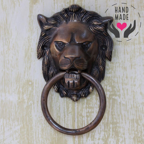 Knock Lion Door-Knockers
