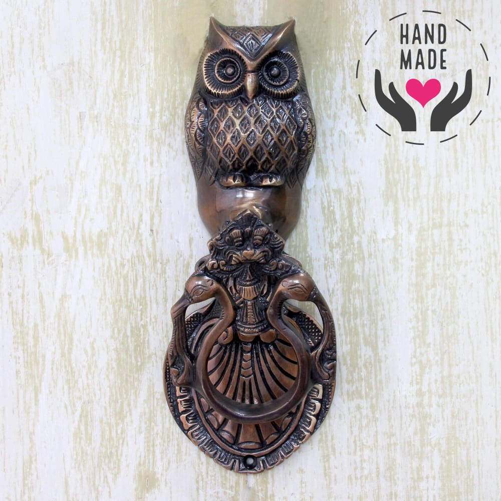 Knock Owl Door-Knockers