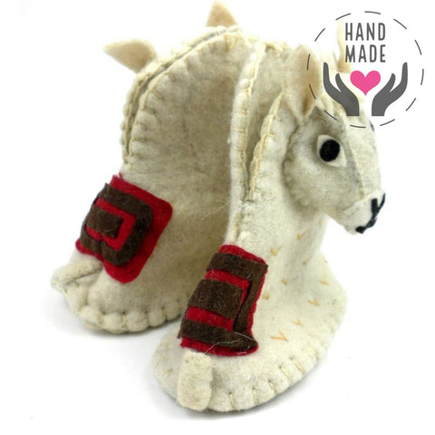 Llama Zooties Baby Hand-Felted Booties