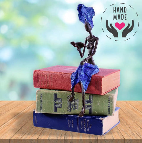 Power Of Knowledge Bronze Statuette Sculptures