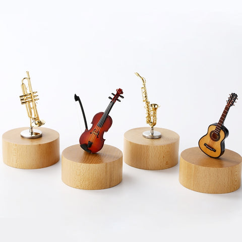 Classical Instruments Rotating Music Boxes (8 instruments)