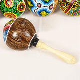 Indonesian Coconut Shakers (Set of 2)