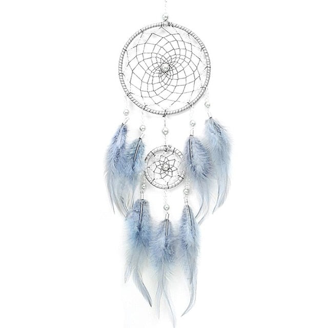 Pastel Snow Dreamcatcher Wall Art