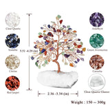 Gemstones Tree of Life on Quartz Base (4 Models)