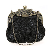 Jaipur Stones Embroidery Vintage Evening Bag