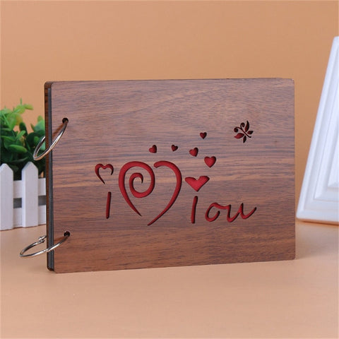 Love You Album-Photo en Bois