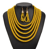 Maike Multi Layer Rope Necklace (4 colors)
