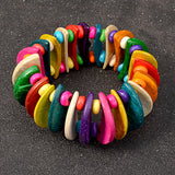 Jacinta Colorful Moon Crescents Bracelet