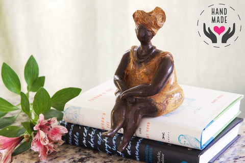 Sweet As Honey Bronze Statuette Sculptures