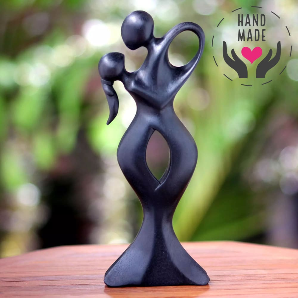 Synergy Wood Statuette Sculptures