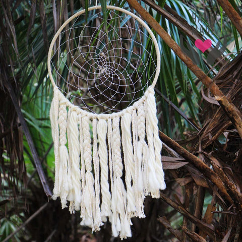 Traditionnal Large Sun Handmade Dreamcatcher