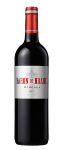 Baron de Brane Margaux 2015 - Bordeaux, France