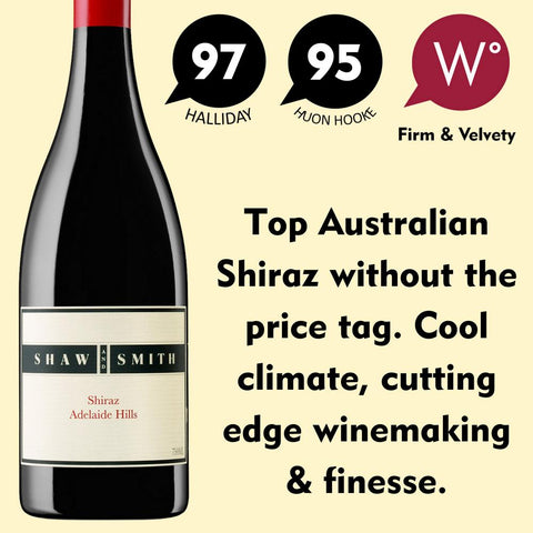 Shaw + Smith Shiraz 2015 - Adelaide Hills