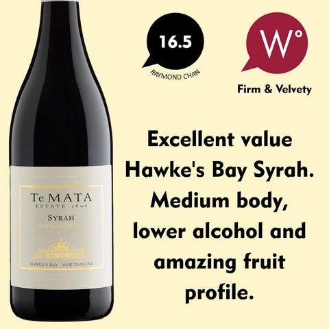 Te Mata 'Estate Vineyards' Syrah 2017 - Hawke's Bay, New Zealand