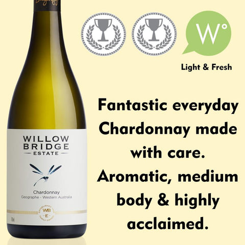 Willow Bridge Estate Dragonfly Chardonnay 2018 - Geographe, WA