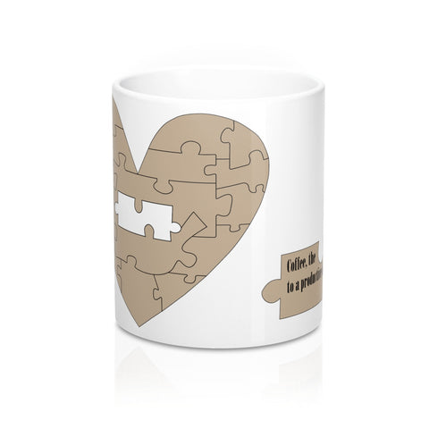 Mug 11oz - The missing piece to a productive day!