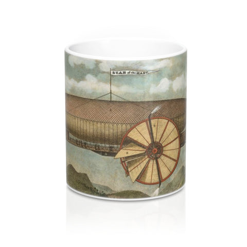 Mug 11oz - Prince's Aerial Ship. Star of the East!