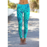 Tropical Dream Lucy Printed Performance Leggings - Women