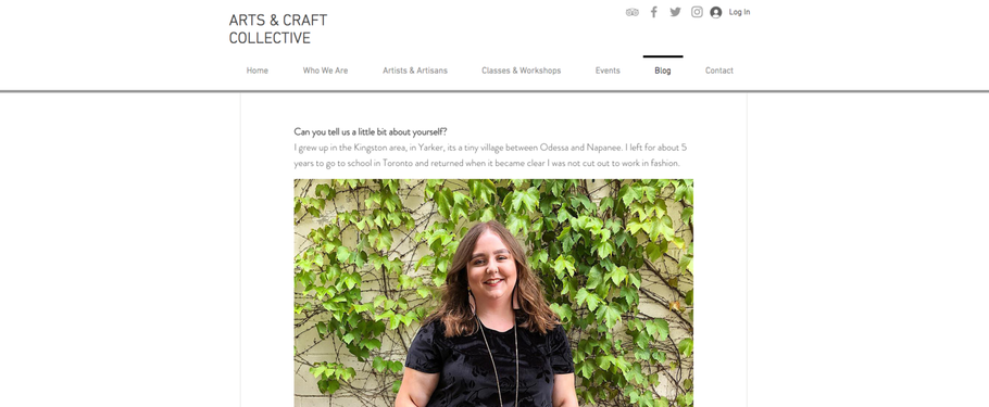 In The Press: Arts & Craft Collective Featured Artist