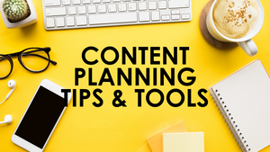 How To Plan Content and Actually Post It