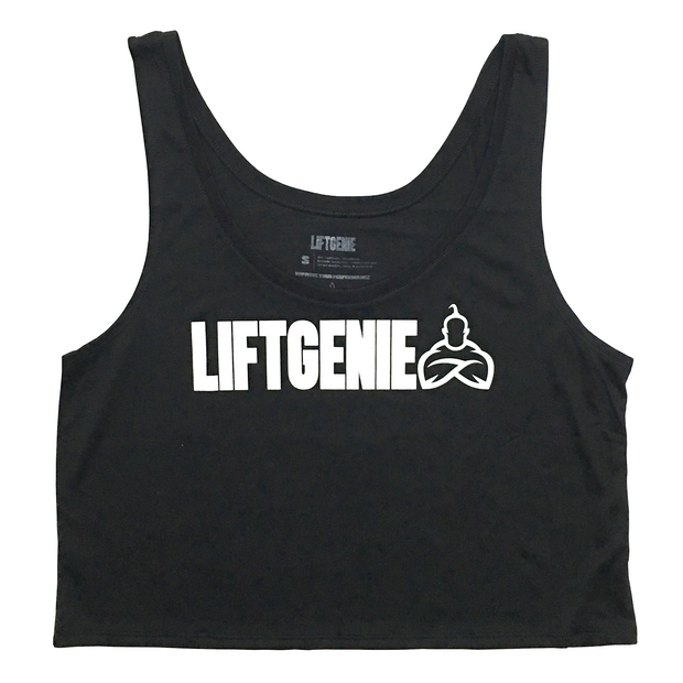 Women's LiftGenie Logo Croptop