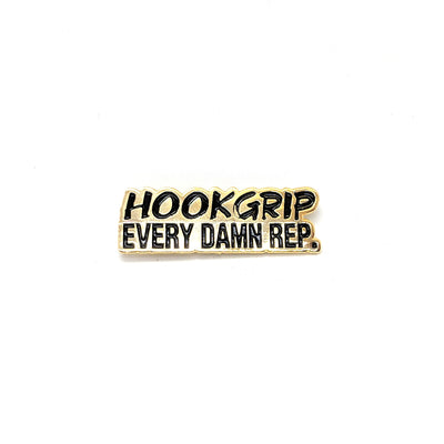 Pins - Hookgrip Every Damn Rep