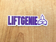 LiftGenie Logo Sticker