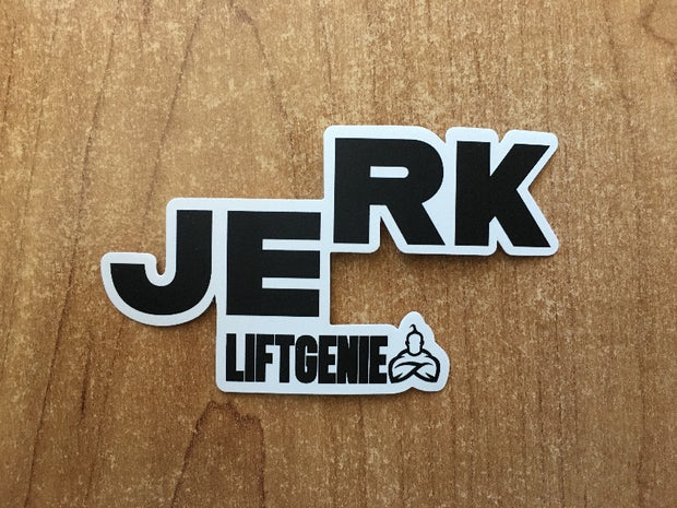 """Split Jerk"" Sticker"