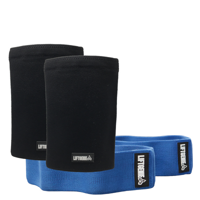 Bundle: Knee Sleeves & Hip Bands