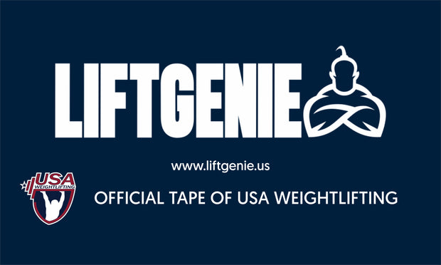 LiftGenie Gym Banner Flag