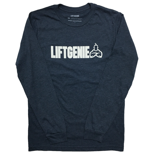 LiftGenie Logo Long Sleeve Shirt