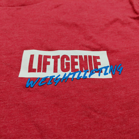 LiftGenie Weightlifting T-Shirts