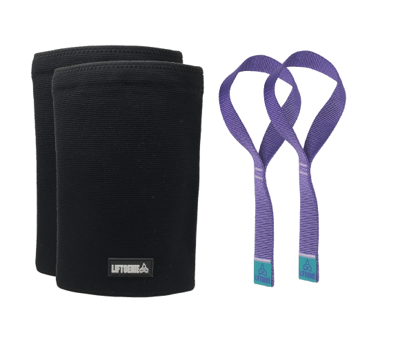 Bundle: Lifting Straps & Knee Sleeves