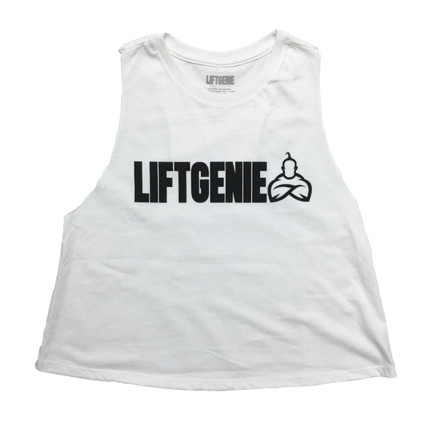 LiftGenie Logo Women's Croptops