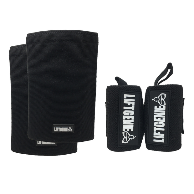 Bundle: Wrist Wraps & Knee Sleeves