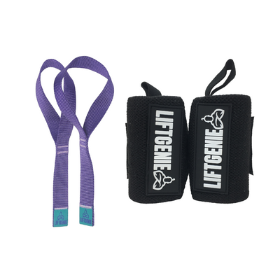 Bundle: Wrist Wraps & Lifting Straps