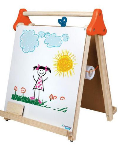 DISCOVERY KIDS Wooden 3-in-1 Tabletop Easel Give10Back GiveTenBack