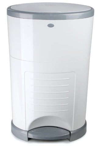 Give10Back Dekor Classic Hands-Free Diaper Pail, White Baby Shower Give Ten Back Give 10 Back