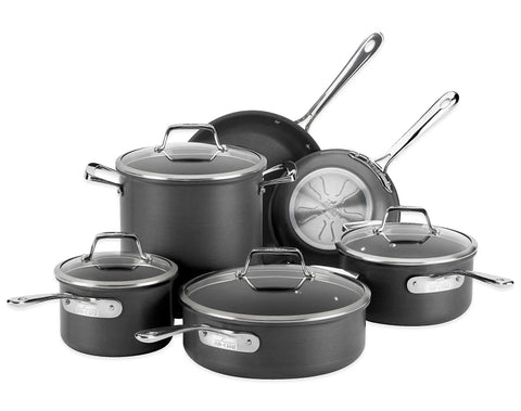 Give 10 Back 011644902667 All-Clad B1 Hard Anodized Nonstick 10-Piece Cookware Set Give Ten Back Give10Back -Black Friday-Giving Tuesday-Cyber Monday