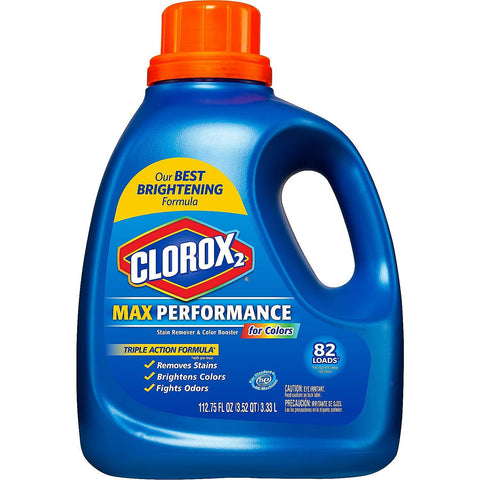 Give 10 Back 044600318080 Clorox 2 MaxPerformance Stain Remover & Color Booster for Colors Give Ten Back Give10Back
